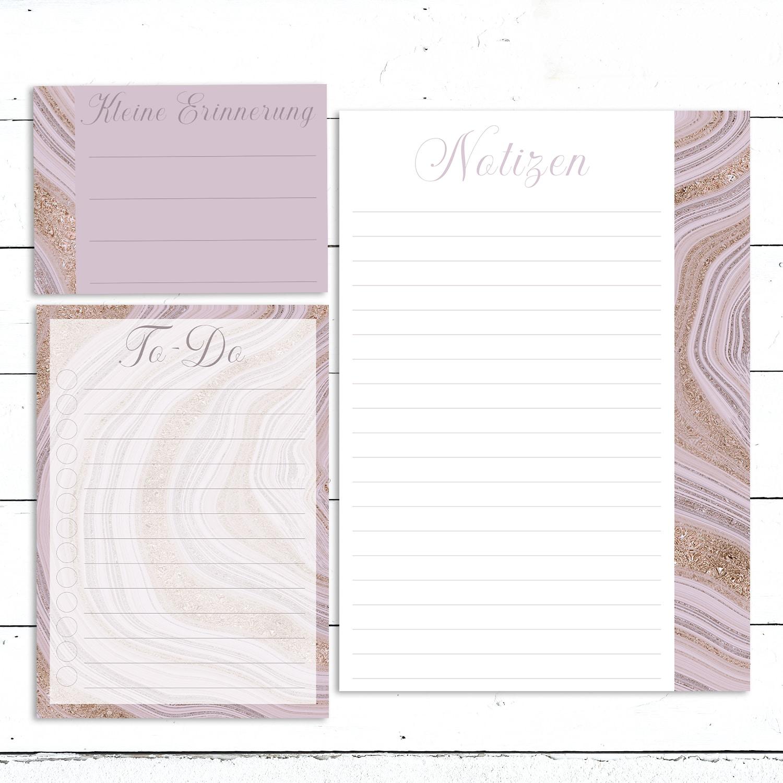Swomolemo Kalender Planer Vorlagen 2020 Ausdrucken Bullet Journal Schreibpapier Papier Glitzer Edel