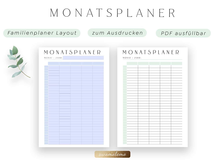 Familienplaner_zum_Ausdrucken_Monatsplan_Vorlage