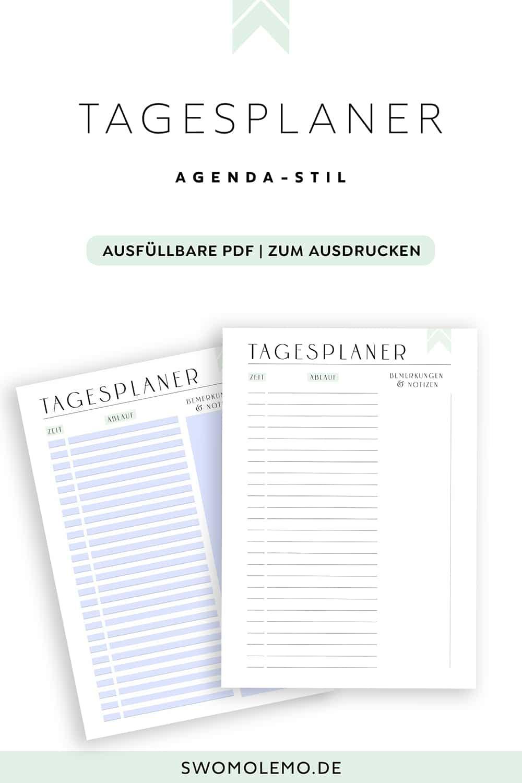 Planer-/Kalender 2021 Vorlagen zum Ausdrucken - Minimal Green [XXL Komplettset] 1