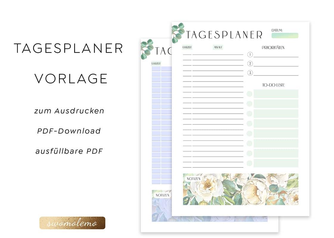 Tagesplan_Vorlage_digital_pdf_strukturierter_Tagesplaner