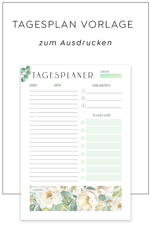 Tagesplaner_Vorlage_zum_Ausdrucken_Checkliste_Strukturiert_PDF