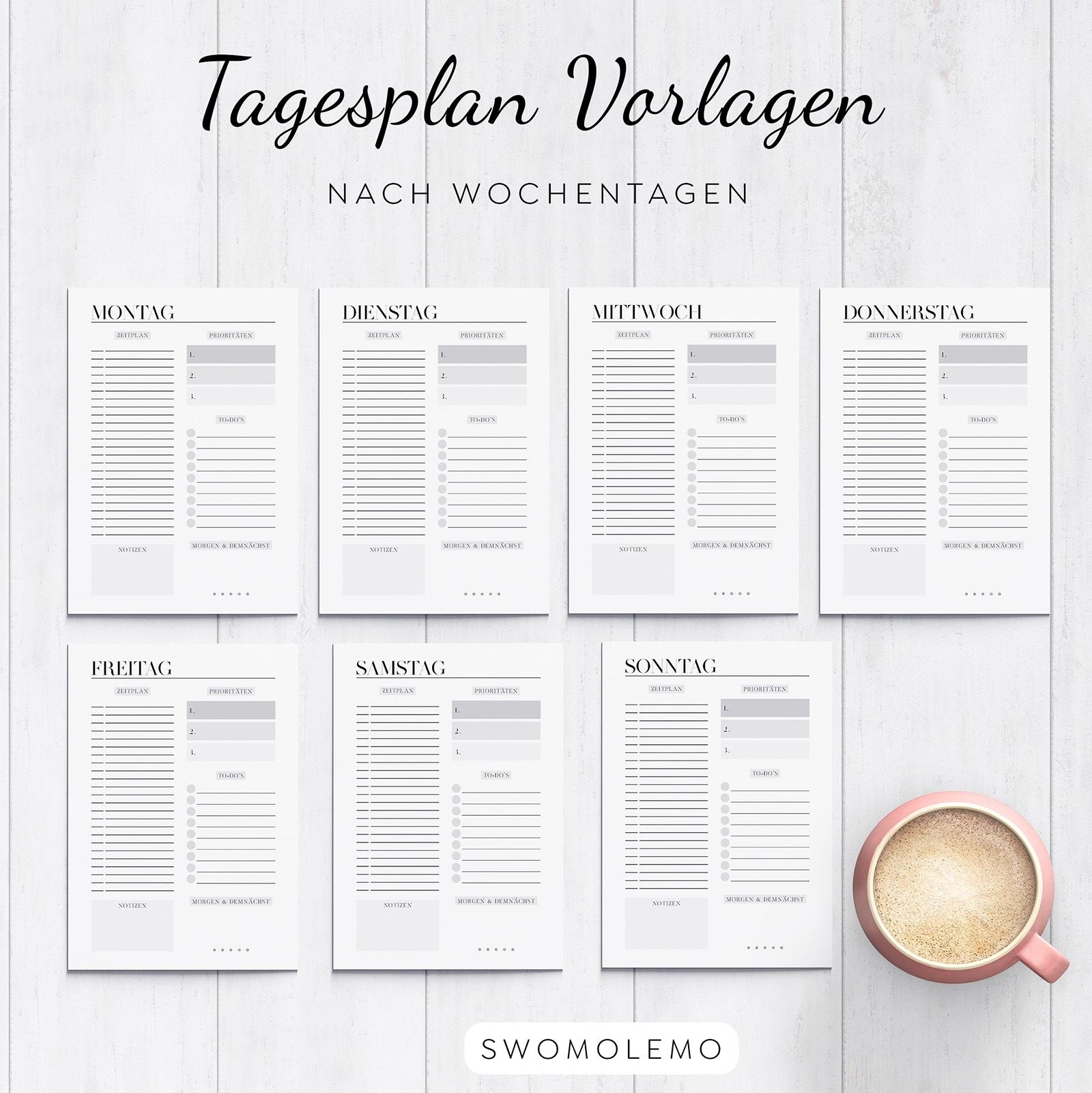 Tagesplan_Vorlagen_nach_Wochentagen_für_jeden_Tag_download