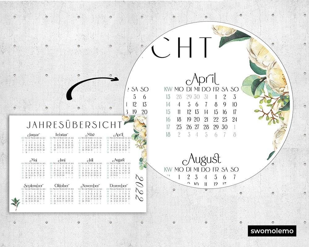 Kalender-Druckvorlage-Zoom-Qualität