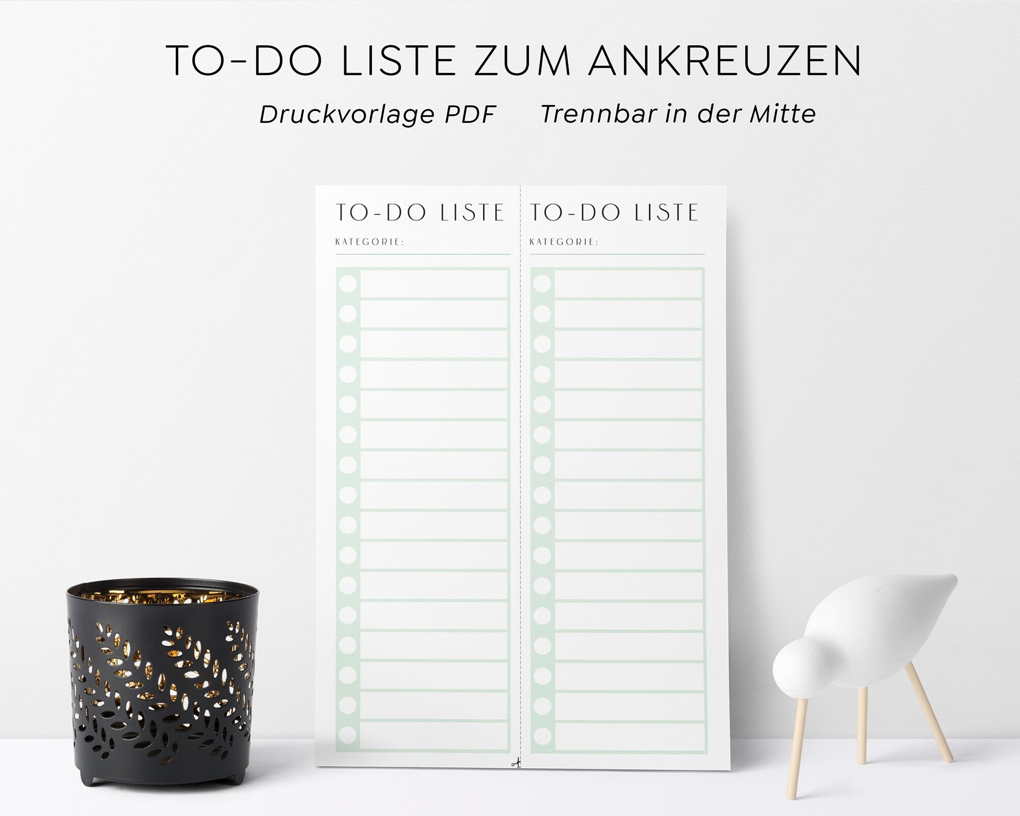 todo Liste Muster PDF Download
