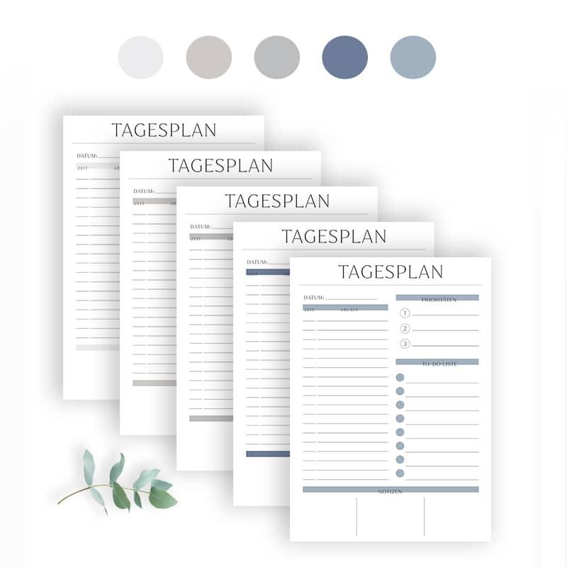 Tagesplan_erstellen_Vorlage_zum_Ausdrucken_Checkliste_Tagesplanung_Tagesplaner