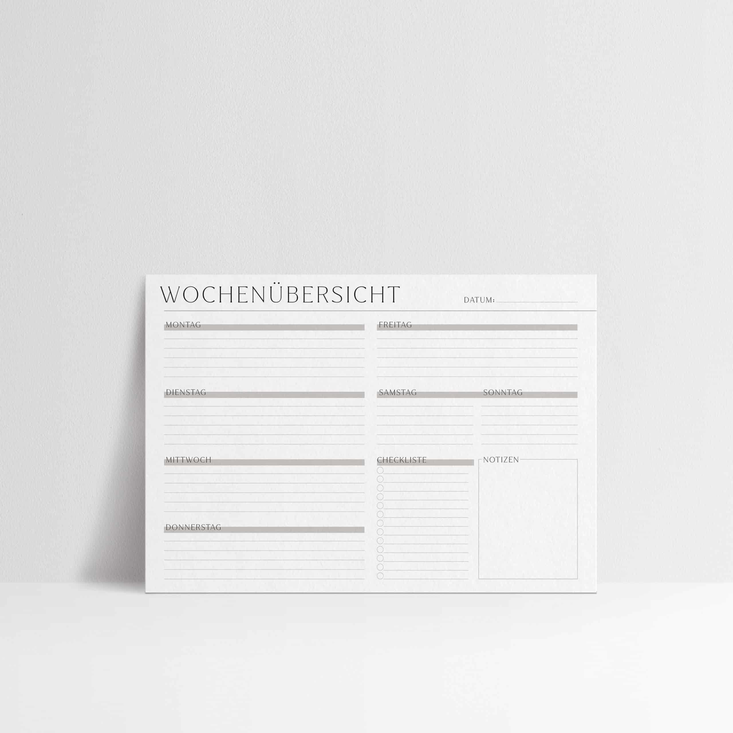 Wochenplaner_zum_Ausdrucken_Terminplaner_pdf_universal_checkliste