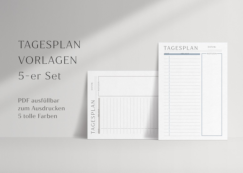 tagesplan_zum_ausdrucken_zeitplan_5_set