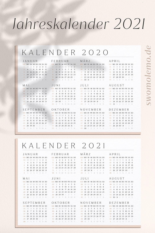 Kalender_2021_zum_ausdrucken_mit_Kalenderwochen_Jahreskalender_2020_pdf_set