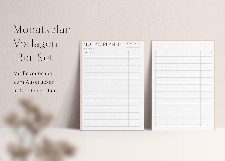 Monatsplaner_Familienplaner_universal_Set_swomolemo_Planer_Vorlagen