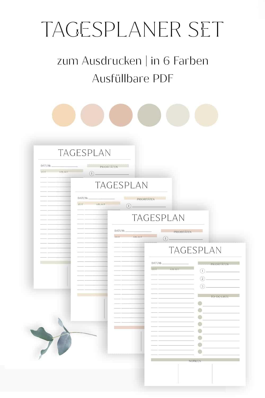 Tagesplan_erstellen_Vorlage_zum_Ausdrucken_Checkliste_Tagesplanung_Tagesplaner_individuell