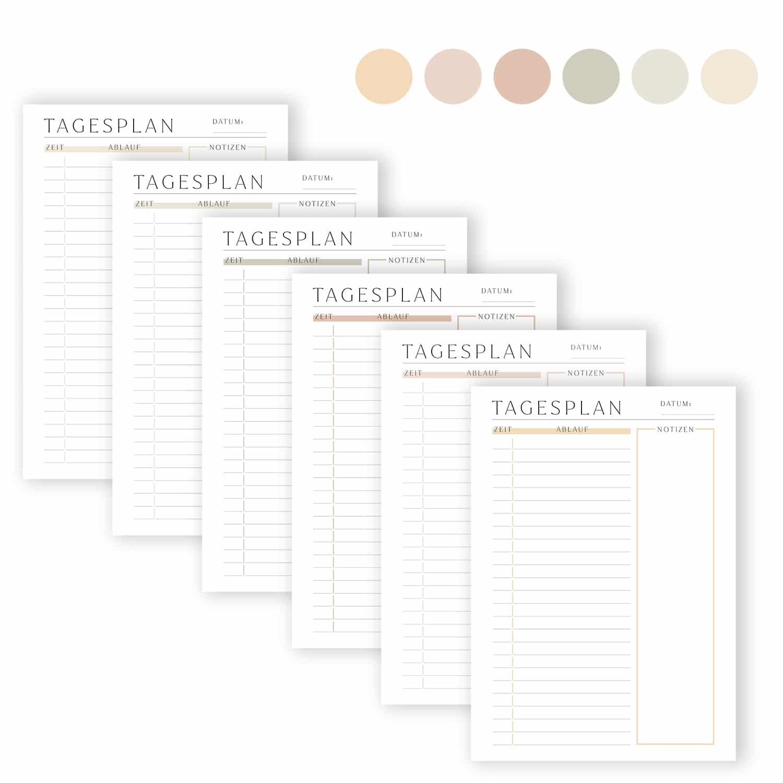 tagesplan_zum_ausdrucken_zeitplan_6_set_farben