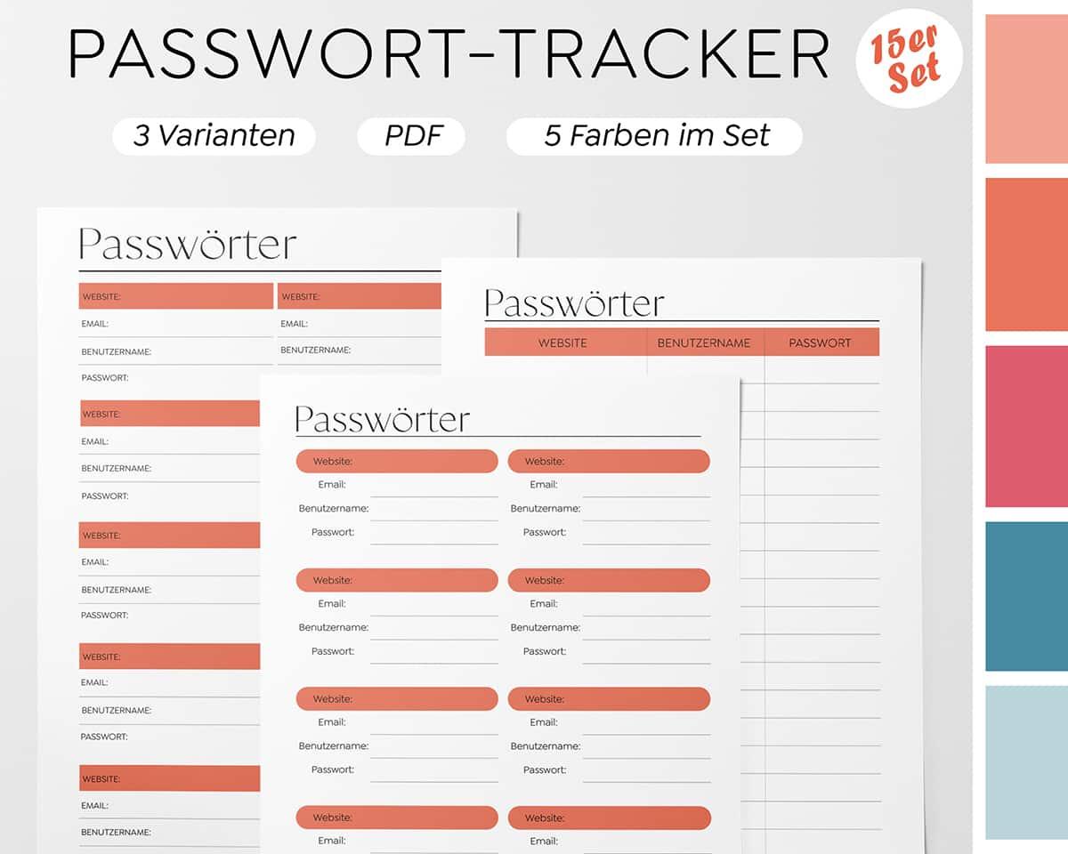 Kennwort-Liste-Vorlage-Manager-Passwort