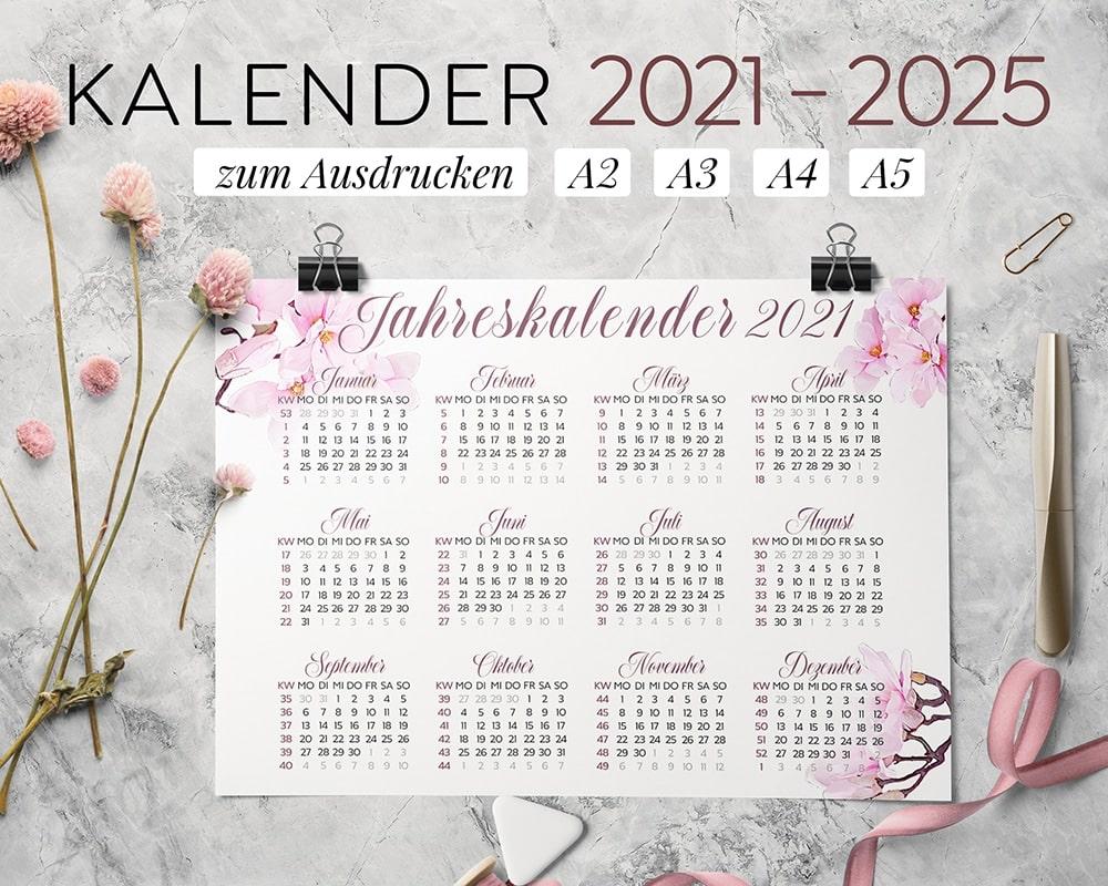 Kalender-2021-zum-ausdrucken-pink-spring