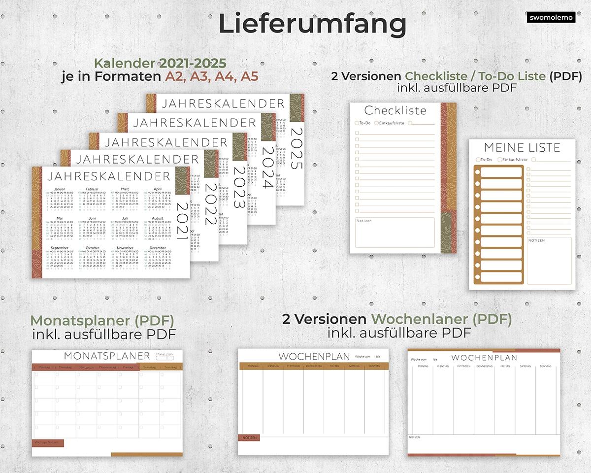 Organizer-Planer-2021-2022-2023-2024-2025-Download-pdf-digital-braun